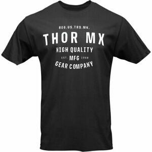 Thor Crafted Fashionable Casual Wear T-Shirt Black