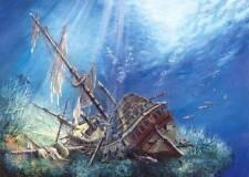 New 2000 pcs pc Puzzle jigsaw Castorland Sunken ship C-200252
