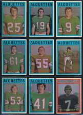 1972 O-Pee-Chee (CFL) -Complete Set (132) -JOE THEISMANN, GABRIEL, MOSCA, MUSSO