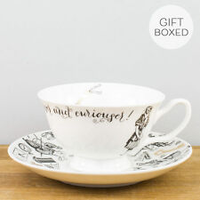 New Creative Tops V&A Alice in Wonderland Fine China Gift Box Teacup Saucer Set
