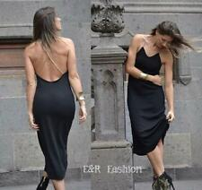 ZARA KNITTED OPEN BACK DRESS SIZE MEDIUM (B20) REF: 2619 800