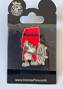 Disney State Character - Mississippi - Mickey as Steamboat Willie Pin