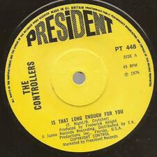 "The Controllers ""Is That Long Enough""  Northern Soul Modern President PT 448"