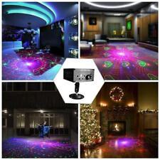 5 Löcher 120 Muster RGB Laserlicht Projektor Disco LED RGB Bühneneffekt Licht