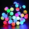 40LED Bulb String Fairy Light Lamp Garden Wedding Christmas Party Decoration