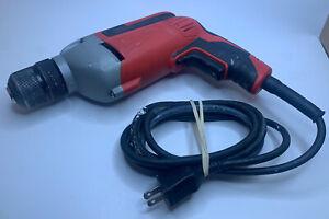 "MILWAUKEE 3/8"" (10mm) DRILL 2800 RPM 0240-20 120V Keyless Chuck"