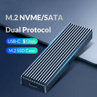 5Gbps M.2 NVME to USB 3.1 SSD Enclosure Adapter Type-C SSD External Case Box 1Pc
