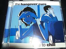 The Hangover Cure Time To Chill Various 2 CD Jamiroquai Deep Dish Moloko Olive &