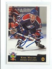 Kirk Maltby Signed 1994 Classic Pro Prospects Card #21