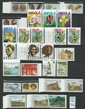 Angola 1975/1994 - 28 stamps mint and used