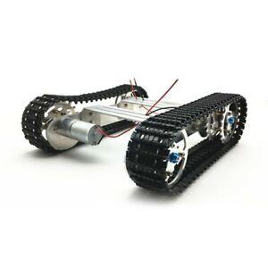 Aluminium Platform Damping Metal Tank Robot Chassis DIY Crawler  for Arduino