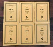 Händel: Orgelkonzerte op. 4 / Studienpartituren