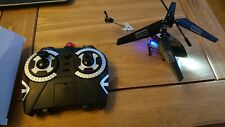 RC Helicopter Remote Control Helicopter Indoor with Gyro and LED Light 3.5