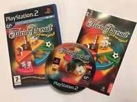 PLAYSTATION 2 PS2 GAME TRIVIAL PURSUIT UNHINGED +BOX INSTRUCTIONS COMPLETE PAL