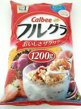 From Japan Calbee Fruit granola 1200g Cereal