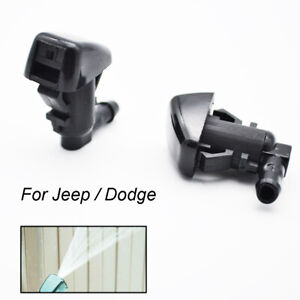 Front Windshield Washer Nozzle Jet For Jeep Liberty KK Commander Grand Cherokee