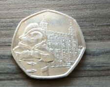 Paddington Bear at the tower 2019 Circulated 50p coin
