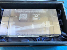 Crossrail Crystal Paperweight Display Piece Liverpool St Tunnels 2015 C510 Team