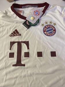 FC Bayern Munich UCL Soccer Jersey New Black Size Youth L Champion League