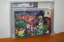 Banjo-Kazooie (Nintendo 64 N64) NEW SEALED V-SEAM FIRST PRINT MINT GOLD VGA 85+!
