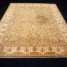 Orient Teppich Ziegler 295 x 244 cm Grün Beige Floral Handgeknüpft Carpet Rug