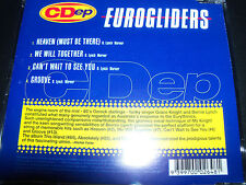 Eurogliders Heaven/We Will Together/Groove/Can't Wait To See You CD Ep Single