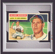 1956 Topps NELSON BURBRINK #27 EXMT Gray Back *awesome card for your set* SD1o