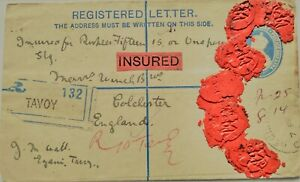 """INDIA/BURMA  REGISTERED COVER FROM """"TAVOY 132"""" POSTMARK """"TAVOY ON  STAMPS1925"""""""