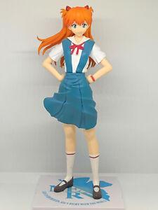 Asuka Langley Figure Neon Genesis Evangelion School Uniform SEGA Prize Anime