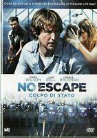 NO ESCAPE - COLPO DI STATO (2015) Owen Wilson DVD EX NOLEGGIO - EAGLE