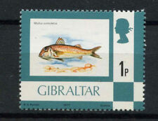 Mint Never Hinged/MNH Fish British Postages Stamps