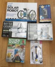 6 X SCIENCE SETS INCLUDING: KITCHEN SCIENCE, GREEN SCIENCE & OTHERS. B/NEW. LOOK