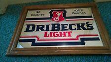 Dribecks light beer mirror