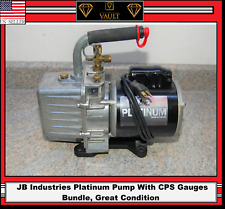 Jb Industries Dv-200N Platinum 7 Cfm 2 Stage Vacuum Pump with Cps Gauges