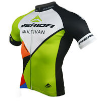 Merida Men's Cycle Cycling Jersey Reflective Multivan Bike Cycling Team Shirt