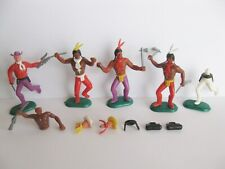 4 CRESCENT GT BRITAIN INDIAN INDIANER INDIEN COWBOY AND REPLACEMENT