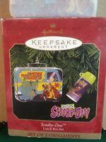 Hallmark SCOOBY DOO 2-PIECE Lunchbox Keepsake Ornament in Original Box NEW 1999