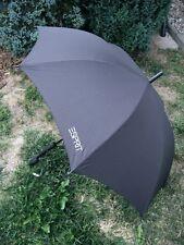 ESPRIT schwarzer Stockschirm Regenschirm für Damen und Herren schwarz Automatik