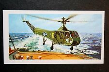 Sikorsky R4 Helicopter         Illustrated  Card  VGC
