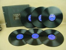 Columbia Masterworks-Arrieta Marina Zorzuela Espanola Volume II- 6 records