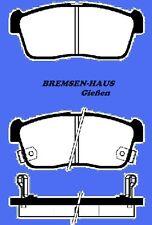 Bremsbeläge vorne Daihatsu Charade+Cuore L251 Bj03-07 f.belüftete Bremsscheiben