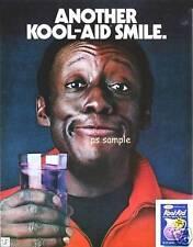 Kool-Aid Smile - Godfrey Cambridge - Vintage Ad Flexible Fridge Magnet