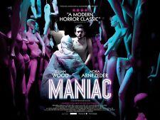 Maniac movie poster : Elija Wood Poster : 12 x 16 inches : Horror