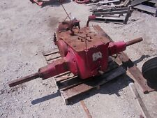 Farmall M Early Sm Ih Tractor Mampw Gear Company 9 Speed Rod Style Transmission