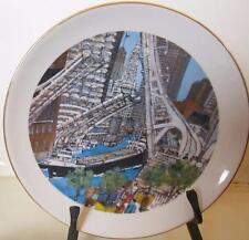 "Limited Edition Chicago Collection ""Great Lakes Traffic"" 1978 Plate 8"""