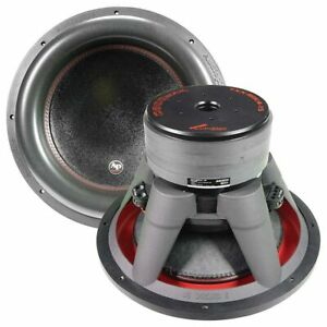 "Audiopipe TXX-BDC4-15 15"" Subwoofer Dual 4 Ohm 1400 Watts RMS Car Audio Speaker"