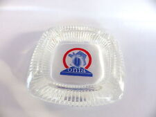 objet bistrot bar Cendrier en verre onia publicitaire 13 cm