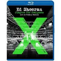 ED SHEERAN Jumpers For Goalposts Live At Wembley Stadium BLU-RAY BRAND NEW ALL