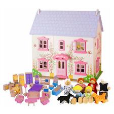 Rose Cottage Wooden Dolls House