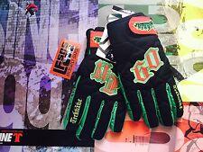 Brand New Technine Nines Snowboard Gloves Black Rasta Size  XL Retail 89.99
